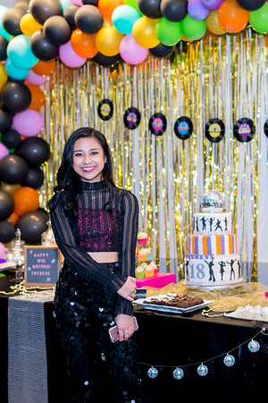 Therese's 18th Bday - Debut