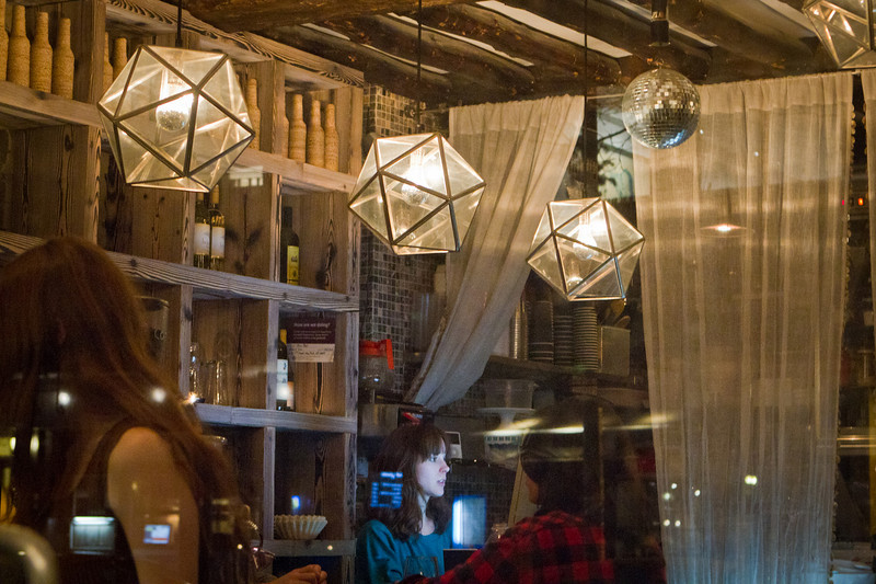 """The Mini Bar along 7th street. Its size sure is """"mini"""", but the place packs a whole lot of character (same goes for the type of crowd it attracts)."""
