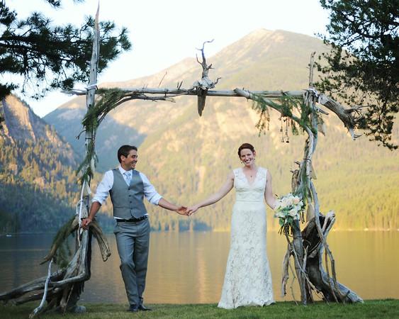 Kelsey and Haven Montana Wedding