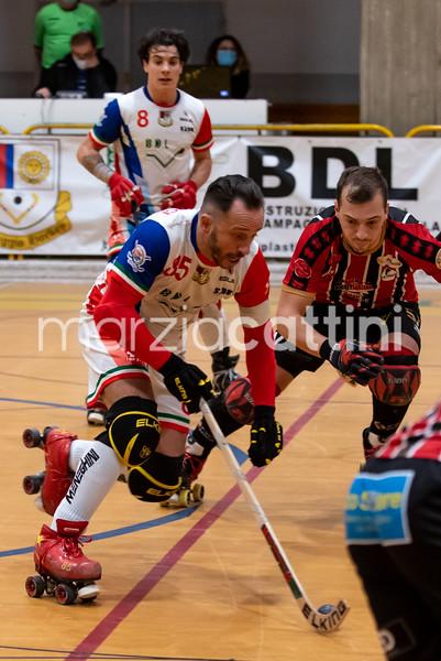 Correggio Hockey vc Hockey Sarzana