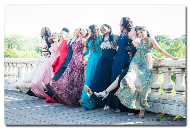 Megan & Friends - Prom 2018