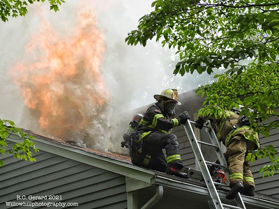 Structure Fire-189 County Road North Madison, CT - 7/4/21