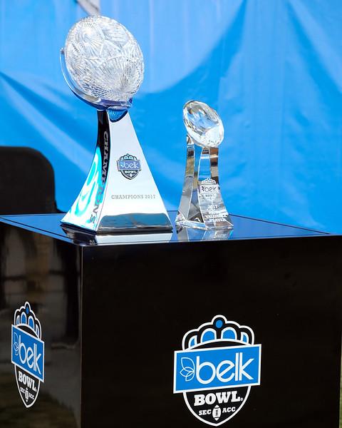 Belk Bowl trophies.jpg