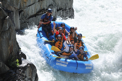 2014 Middle Fork American river rafting