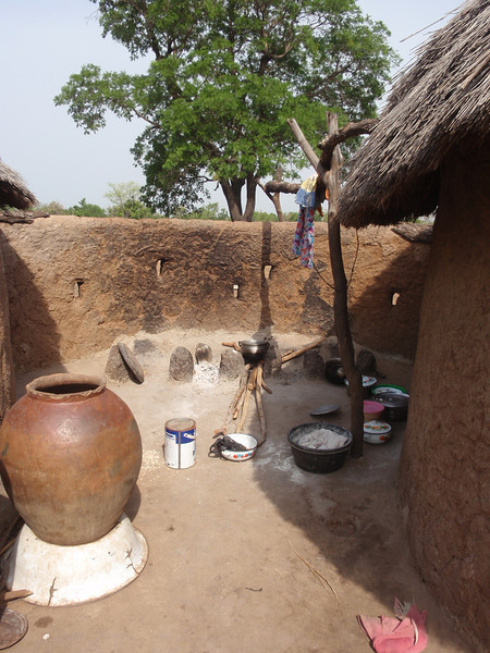 038_Between Tamale and Kumasi. Village Life and Traditional Buildings.jpg