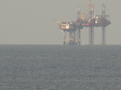 Formby oil rigs