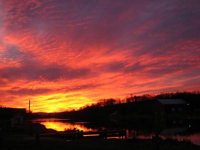 Lake Shenandoah 12/17/09