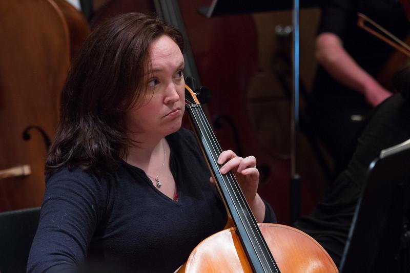 Adrienne Via Sherwood -- Hopkins Symphony Orchestra, April 2017