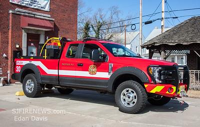 Millville City, Fire Dept. (Cumberland County NJ) Brush 30