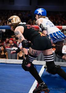 TXRD Playoffs Las Putas  del Fuego vs. Holy Rollers 9/28/2014