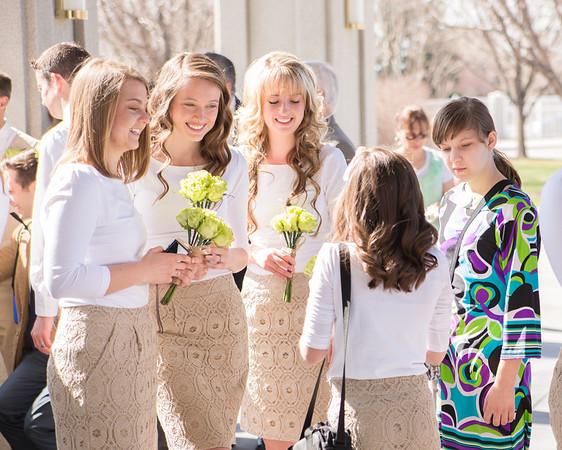 Timpanogos LDS Temple Wedding