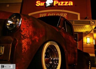 Sir Pizza Car Show
