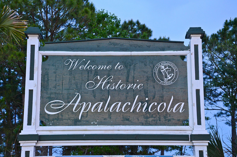 "Apalachicola is the center of the ""Forgotten Coast"" of Florida."