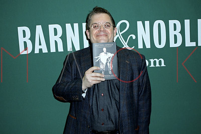 """NEW YORK, NY - JANUARY 06:  Patton Oswalt's signing Of His Book """"Silver Screen Fiend: Learning About Life From an Addiction to Film"""", New York, USA"""