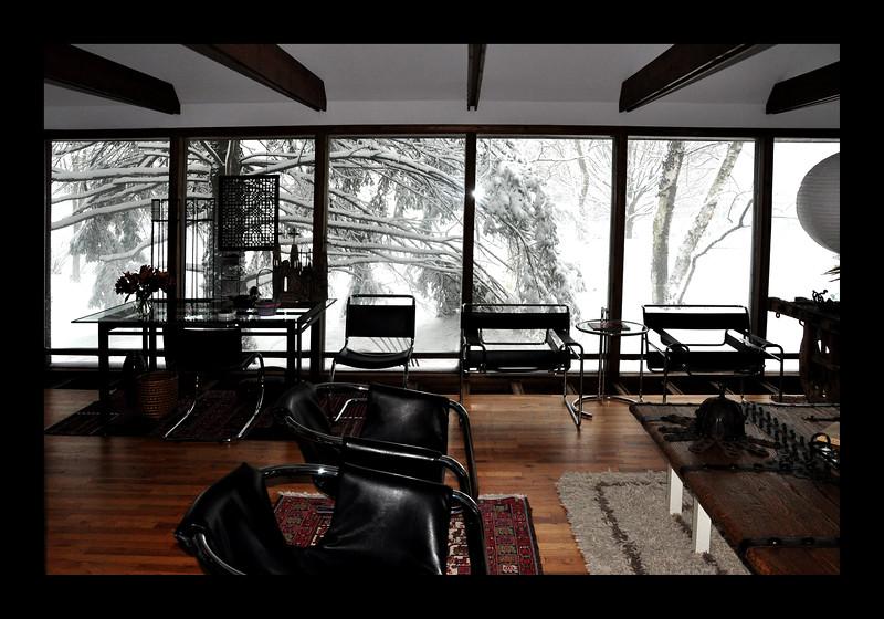 29a. Studio View in Winter - 24' of windows facing East.JPG