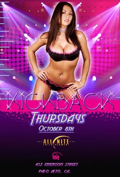 Kick Back Thursday @ B412-Palo Alto 10.8.09