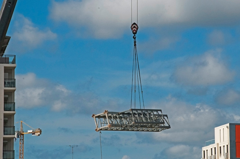 Building a Tower Crane. #6. of a 33+ Shot Photo series.