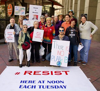 Nov 14 Resist Trump Climate Chaos Protest
