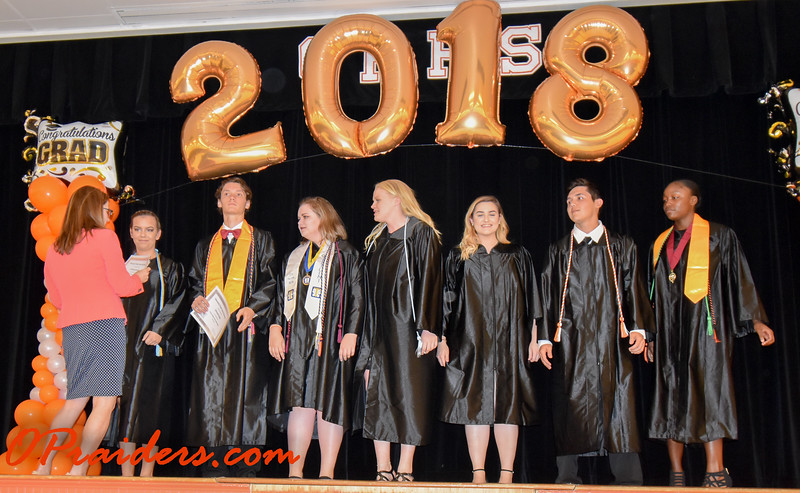 OPHS Senior Awards Night 2018
