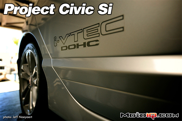 Project Honda Civic SI