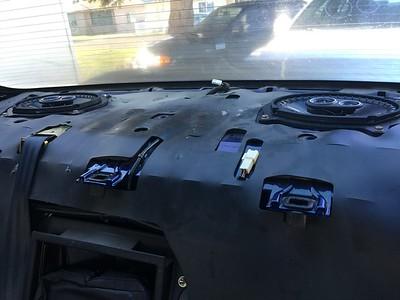 2001 Lexus IS300 Rear Deck Speaker Installation - USA