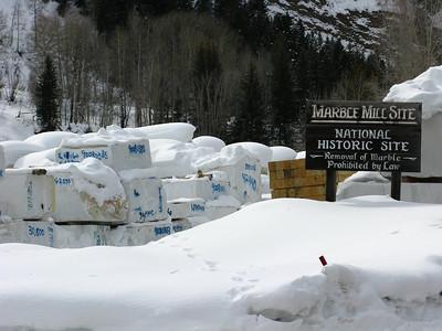 Marble Colorado - February 2009
