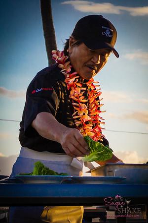 Chef Hiroyuki Sakai of Iron Chef fame (La Rochelle). © 2013 Sugar + Shake