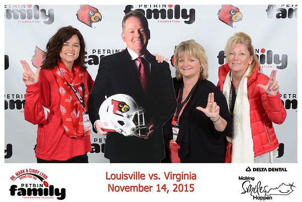 Saturday Nov 14, 2015 . UofL vs Virginia
