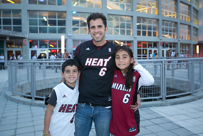 Employee Night with the Heat - October 25, 2013