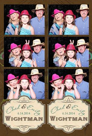 Chad & Emily Wedding 6.14.14