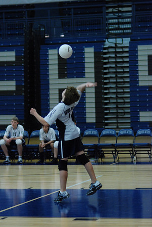 OE JV boys volleyball Vs Romeoville
