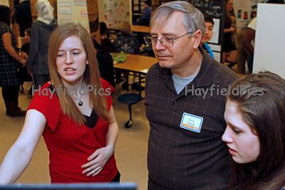 Hayfield Science Fair - Judges & Judging 1/23/10