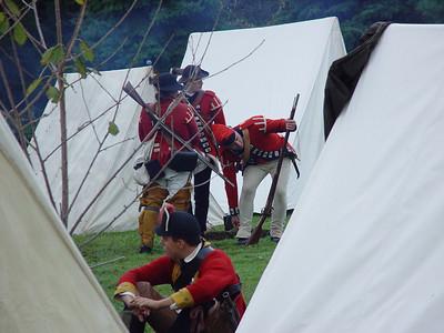 Cherry Valley Rev war reenactment 9/03
