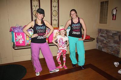 Jillian's 6th Zumbatomic Birthday Party