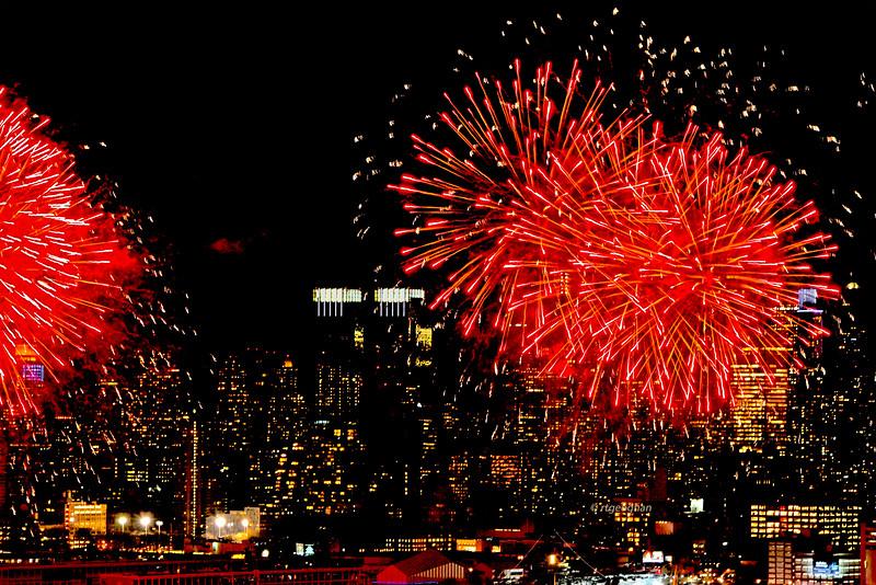 NYC Lunar New Year Fireworks 2017