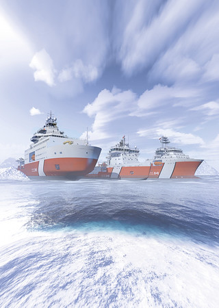 Three fast-track ship conversions