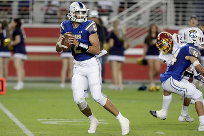 Serra routs Menlo-Atherton, puts on a show at Levi's Stadium