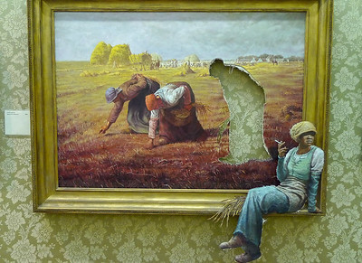 Banksy versus Bristol Museum - 09/08/2009