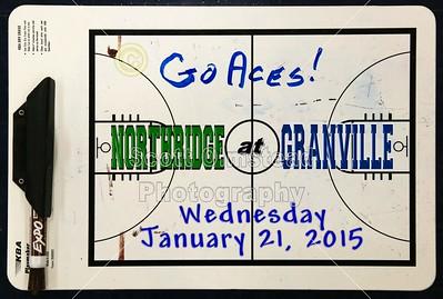 2015 Northridge at Granville (01-21-15) Varsity