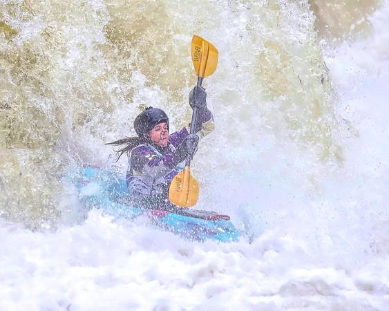 Kayak Race Cuyahoga Falls 2018