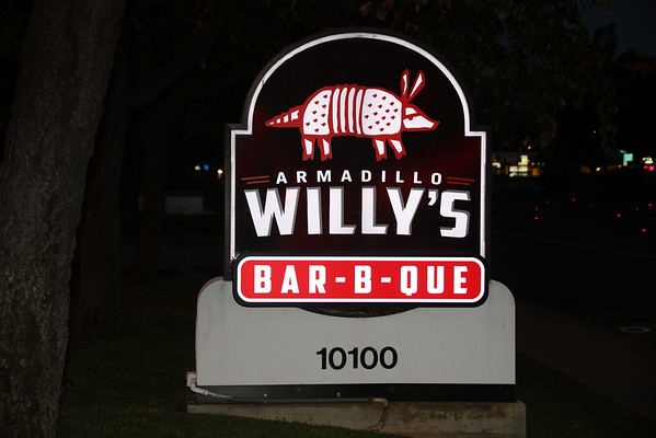 Armadillo Willy's Dinner