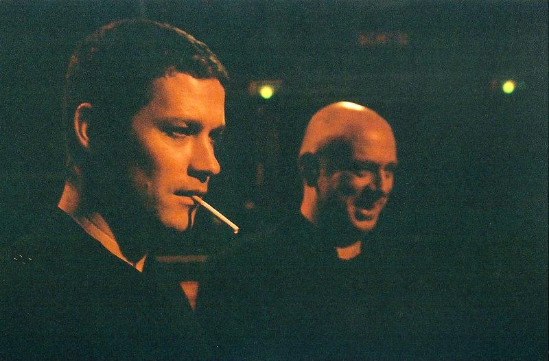 Matthew Kelly and Simon Raymonde in Paris, France.
