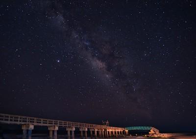 Madagorda Beach Milky Way