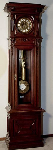 VR-365 -  Floor Standing year-duration Vienna Regulator by M. Halbkram