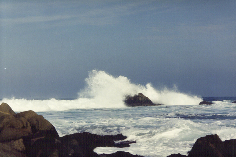 Pacific Coastline - Surf