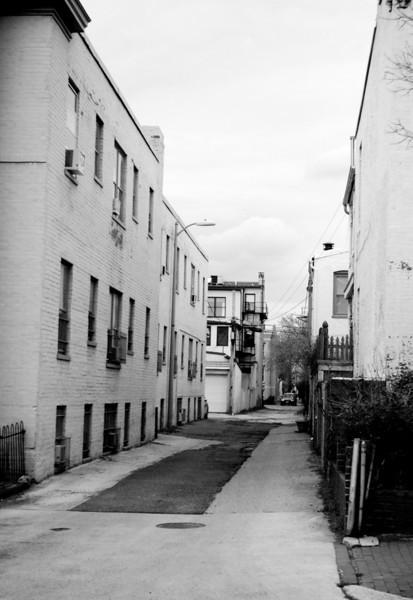 Alley in Southeast DC