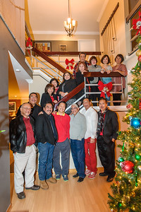 Christmas Party at the Nubla's