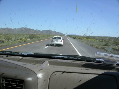 1st Rally Car - Hell Hath No Fury (to insects) Like a Ford Diesel's Windshield Scorned!  (Trip to Phoenix)