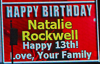 Natalie Rockwell's Birthday - Angels