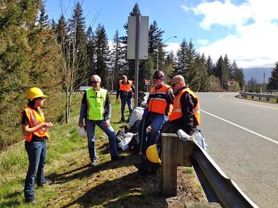 Roadside Clean Up 2014